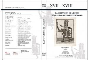 Revue de la Société d'études anglo-américaines des XVIIe et XVIIIe siècles, Hors-série n°2 (2010)