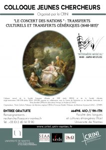 Colloque Jeunes chercheurs Nantes 2016